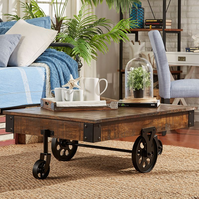 HomeVance Derry Brown Coffee Table