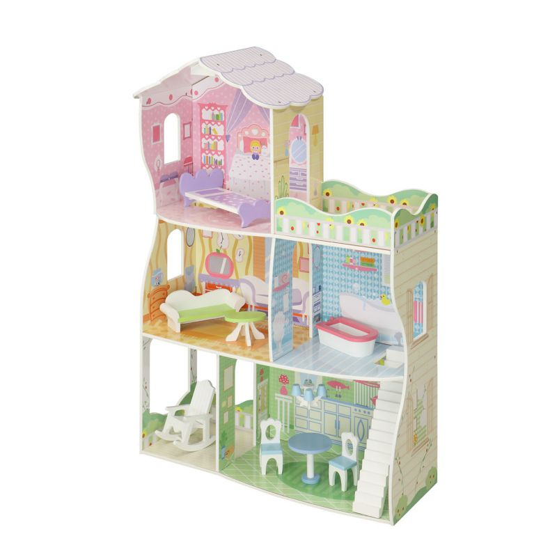 Maxim Joanne's Mansion Dollhouse, Multicolor