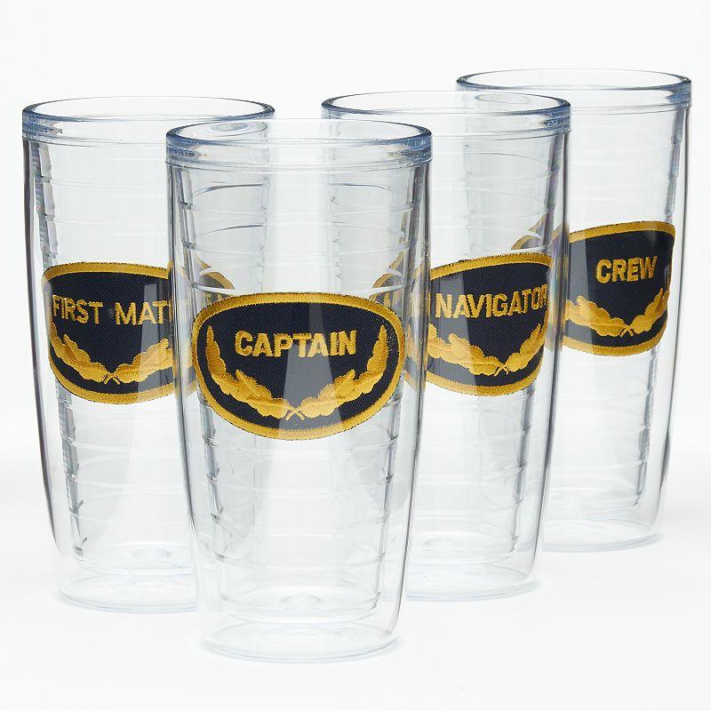 Signature Tumblers Captain & Crew 4-pc. Insulated Tumbler Set