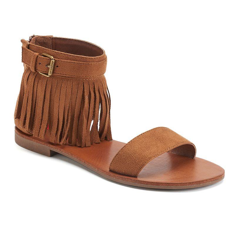 Unionbay Nicole Women's Fringe Sandals