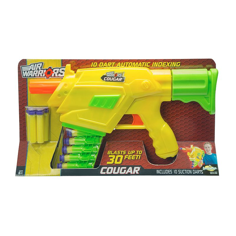 Air Warriors Cougar Blaster by Buzz Bee