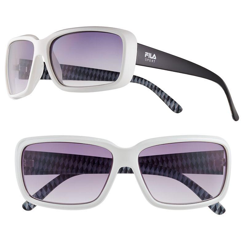 Women's FILA SPORT® Rectangular Sunglasses