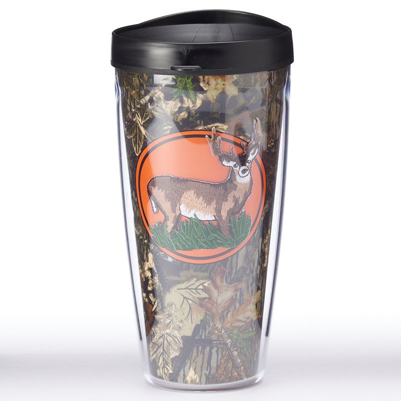 Signature Tumblers Deer On Camouflage 22-oz. Insulated Tumbler