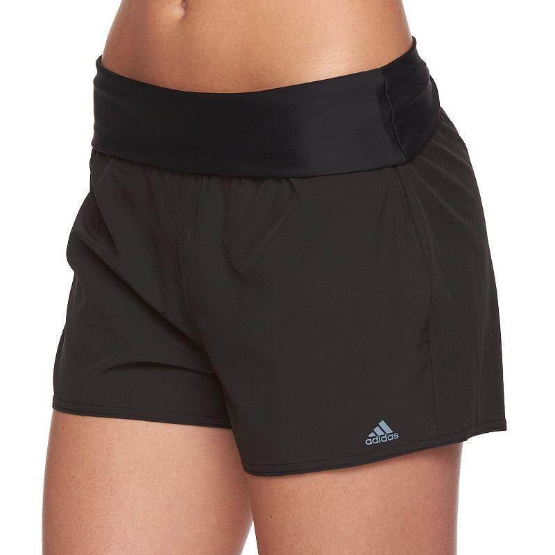 Women's adidas Fold-Over Swim Shorts