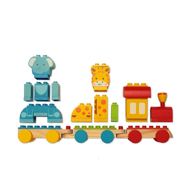 Dream Blocks Animal Train