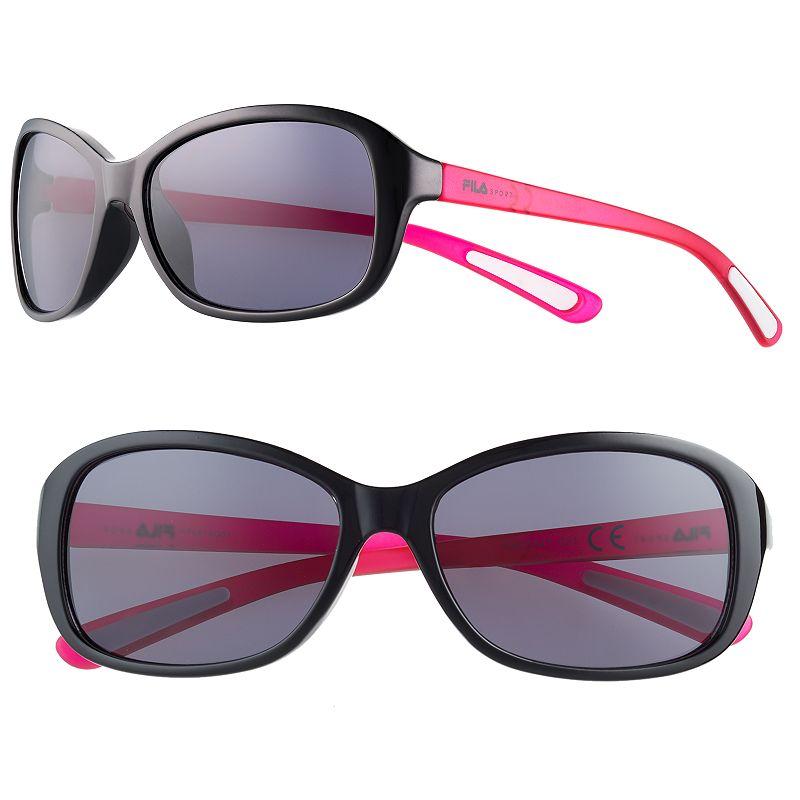 Women's FILA SPORT® Butterfly Oval Sunglasses