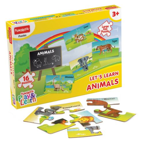 Funskool Let's Learn Animals Puzzle