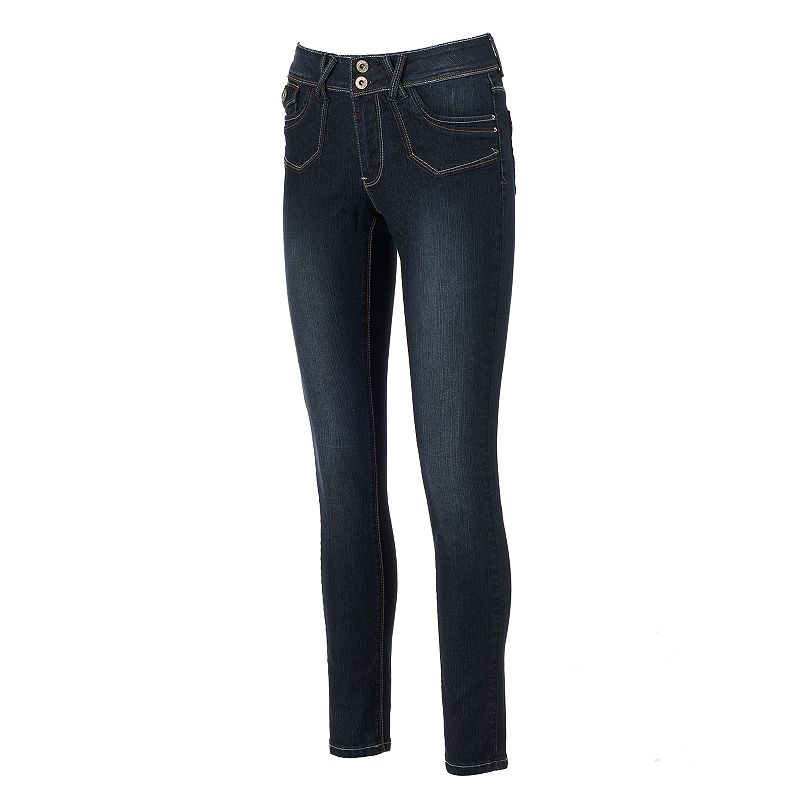 Women's Angels Faded Skinny Jeans