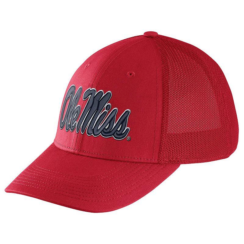 Adult Nike Ole Miss Rebels Legacy 91 Swoosh Flex Cap