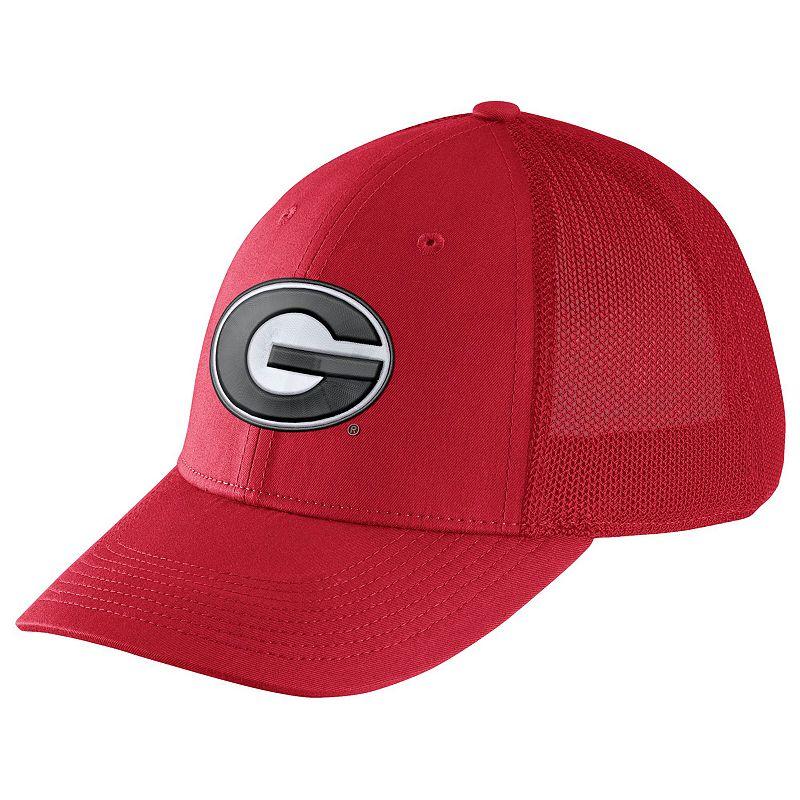 Men's Nike Georgia Bulldogs Legacy 91 Swoosh Flex Cap