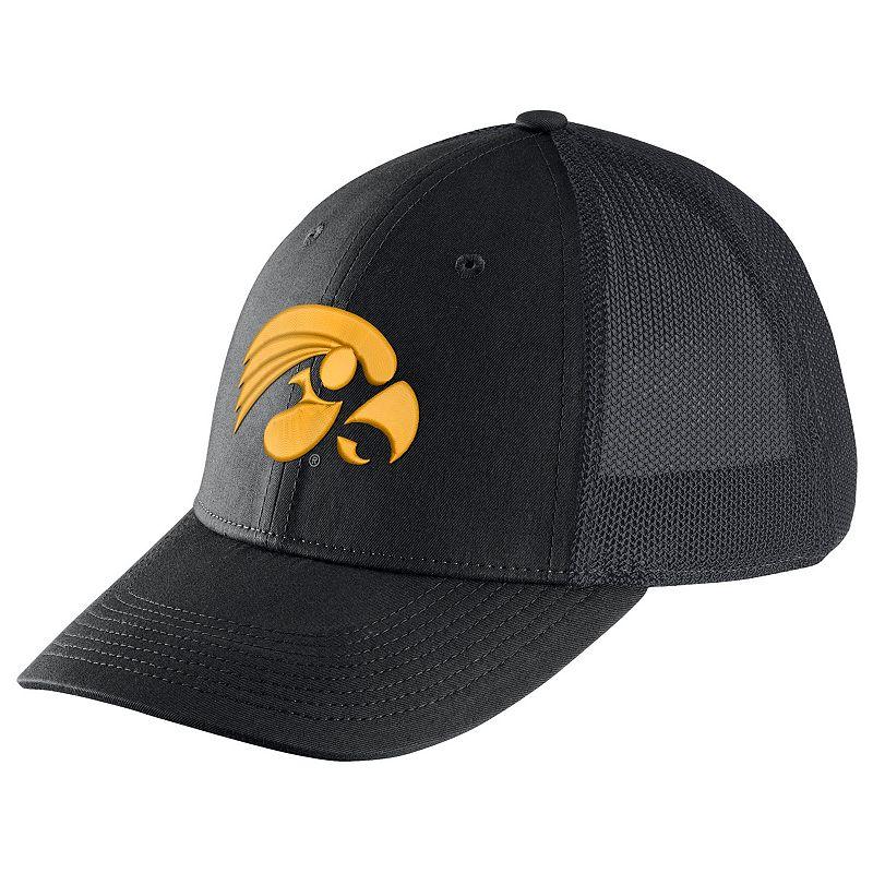 Adult Nike Iowa Hawkeyes Legacy 91 Swoosh Flex Cap