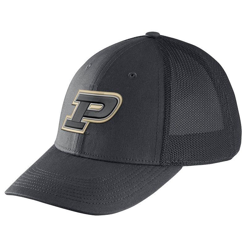 Adult Nike Purdue Boilermakers Legacy 91 Swoosh Flex Cap