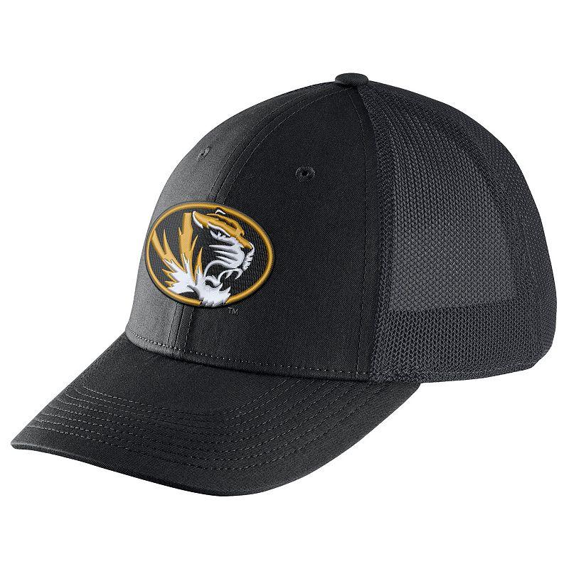 Adult Nike Missouri Tigers Legacy 91 Swoosh Flex Cap