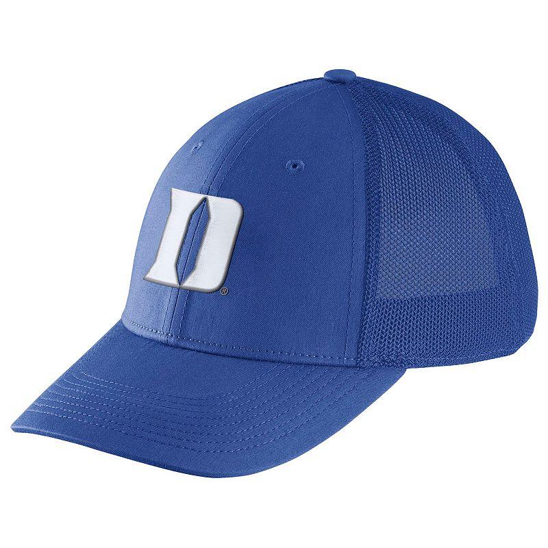 Adult Nike Duke Blue Devils Legacy 91 Swoosh Flex Cap