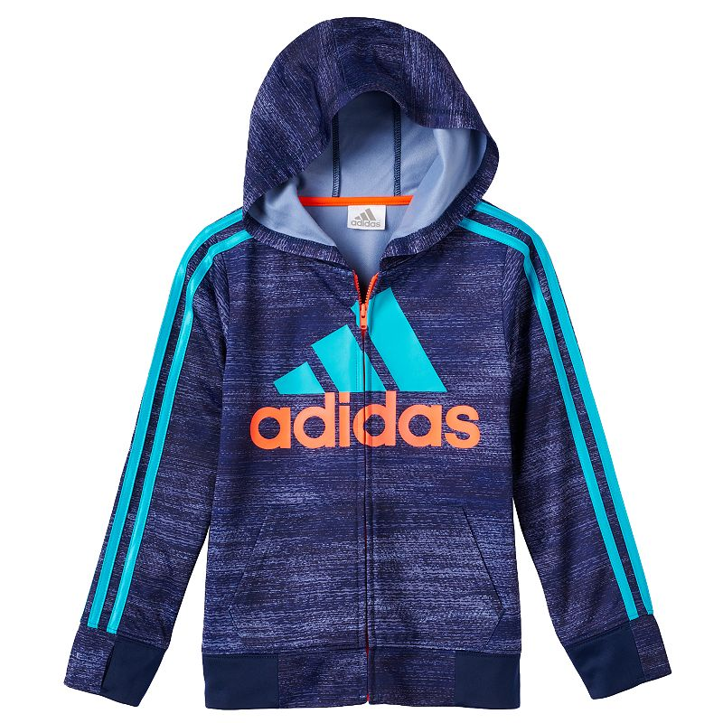 Boys 4-7x adidas Space-Dyed Fleece-Lined Hoodie