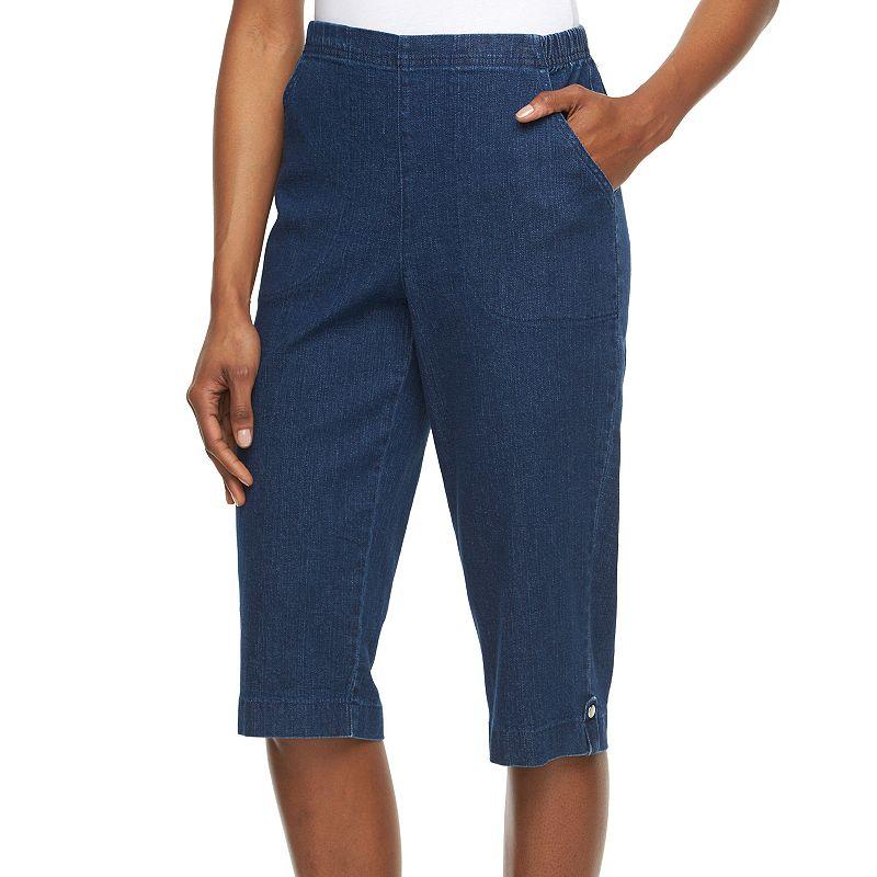 Women's Croft & Barrow® Pull-On Capri Jeans