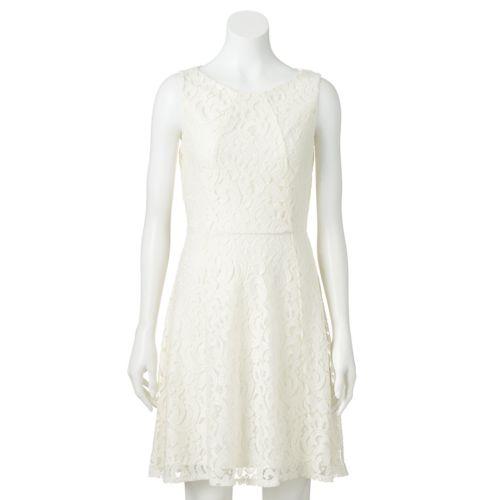 Women's Apt. 9® Lace Fit & Flare Dress