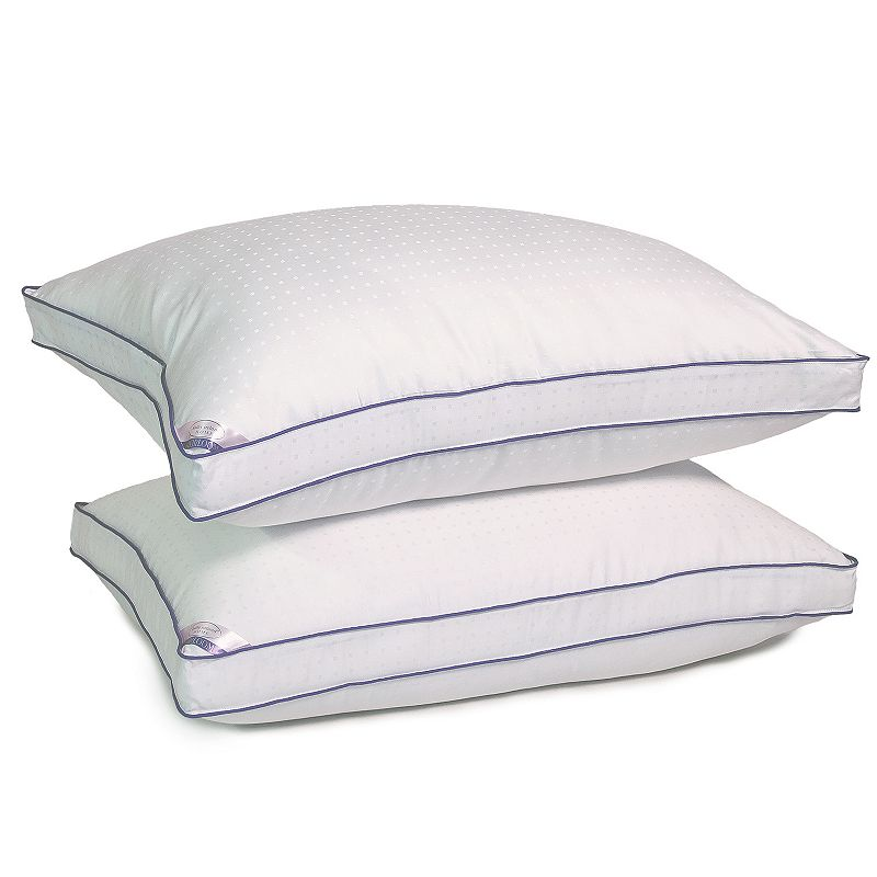 Kathy Ireland Heirloom 2-pk. 1000 Thread Count Down Alternative Pillows