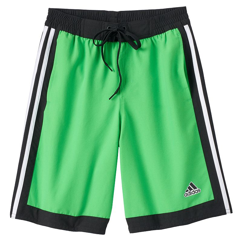 Boys 8-20 adidas Core Iconic Volley Board Shorts