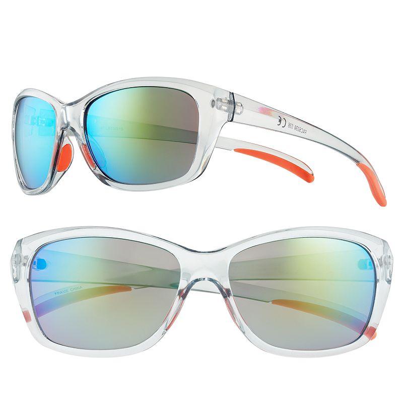Women's FILA SPORT® Winged Oval Wrap Sunglasses