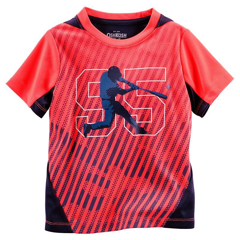 Toddler Boy OshKosh B'gosh® Colorblock Baseball Active Tee