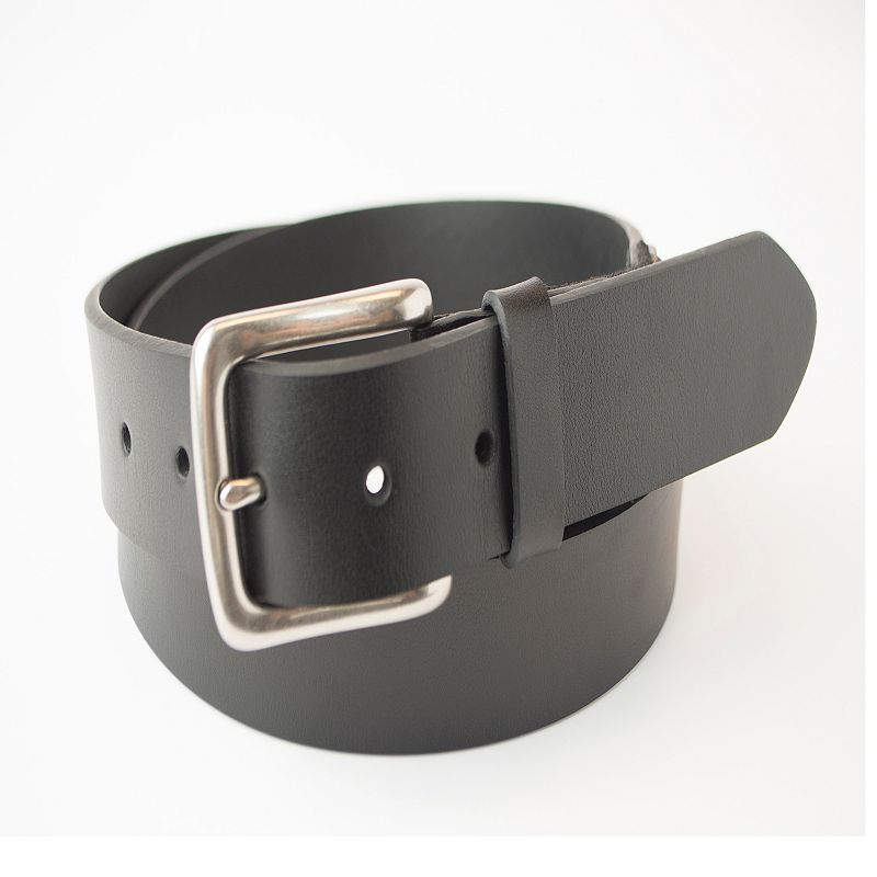 Men's Dockers Cut-Edge Leather Stretch Bridle Belt