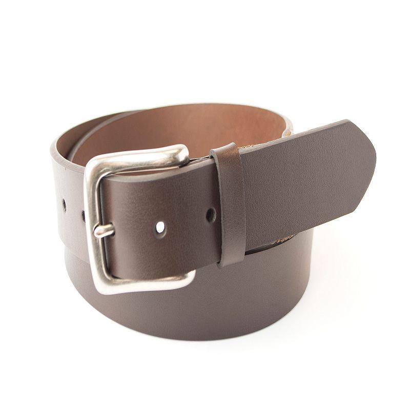 Men's Dockers Cut-Edge Leather Stretch Bridle Belt