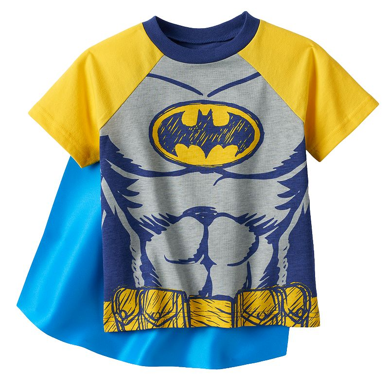 Toddler Boy DC Comics Batman Caped Tee