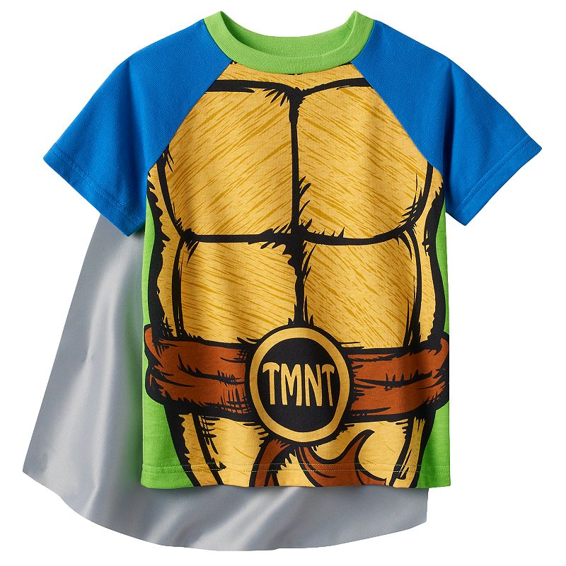 Toddler Boy Teenage Mutant Ninja Turtles Caped Tee