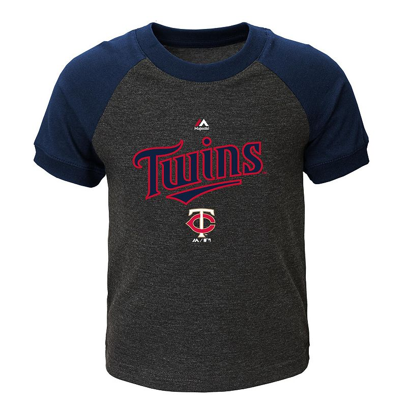 Toddler Majestic Minnesota Twins Game Time Ringer Tee