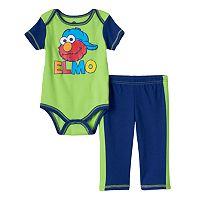 Baby Boy Sesame Street Elmo Bodysuit & Pants Set