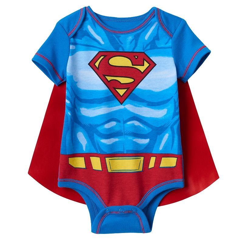 Baby Boy DC Comics Superman Bodysuit with Cape