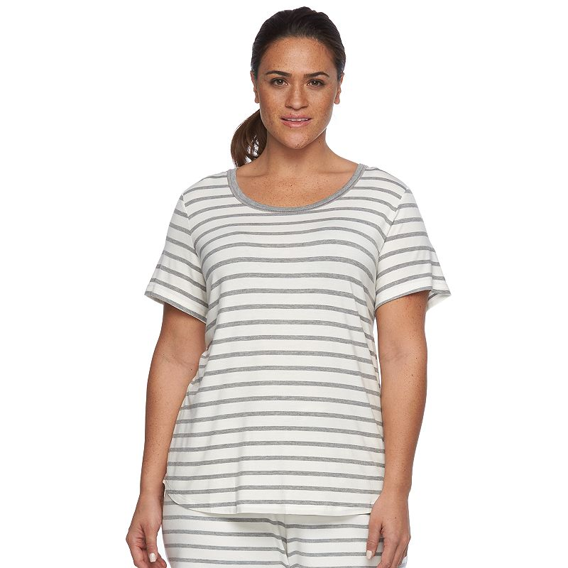 Plus Size SONOMA Goods for Life™ The Everyday Lounge Tee