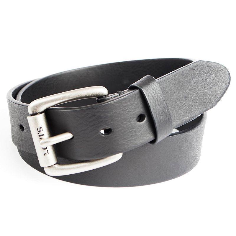 Men's Levi's Cut-Edge Leather Bridle Belt