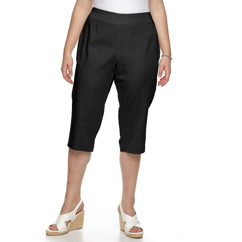 Plus Size Croft & Barrow® Polished Capris