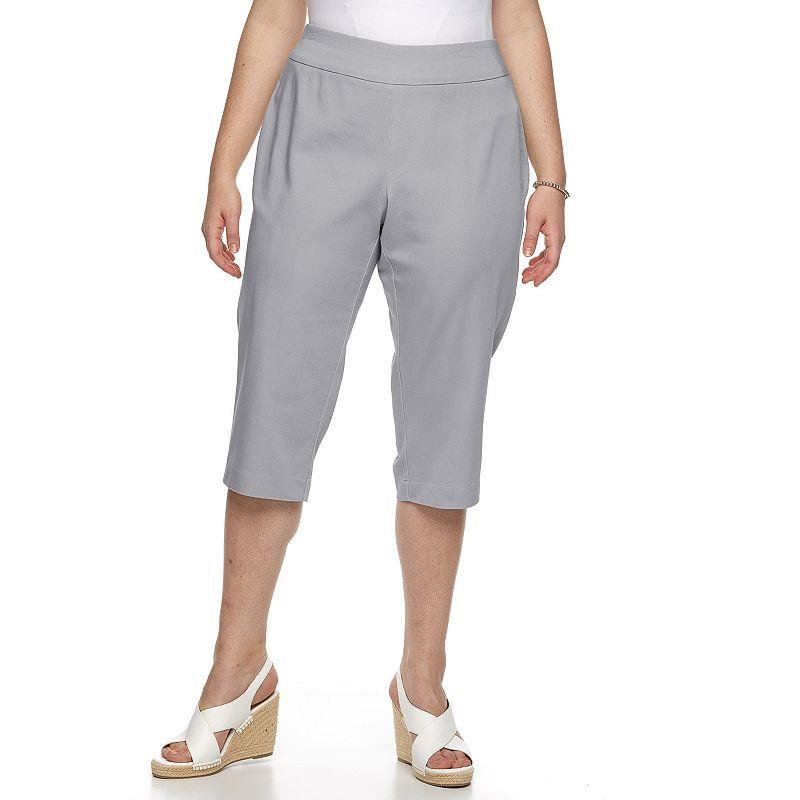 Plus Size Croft & Barrow® Polished Capris