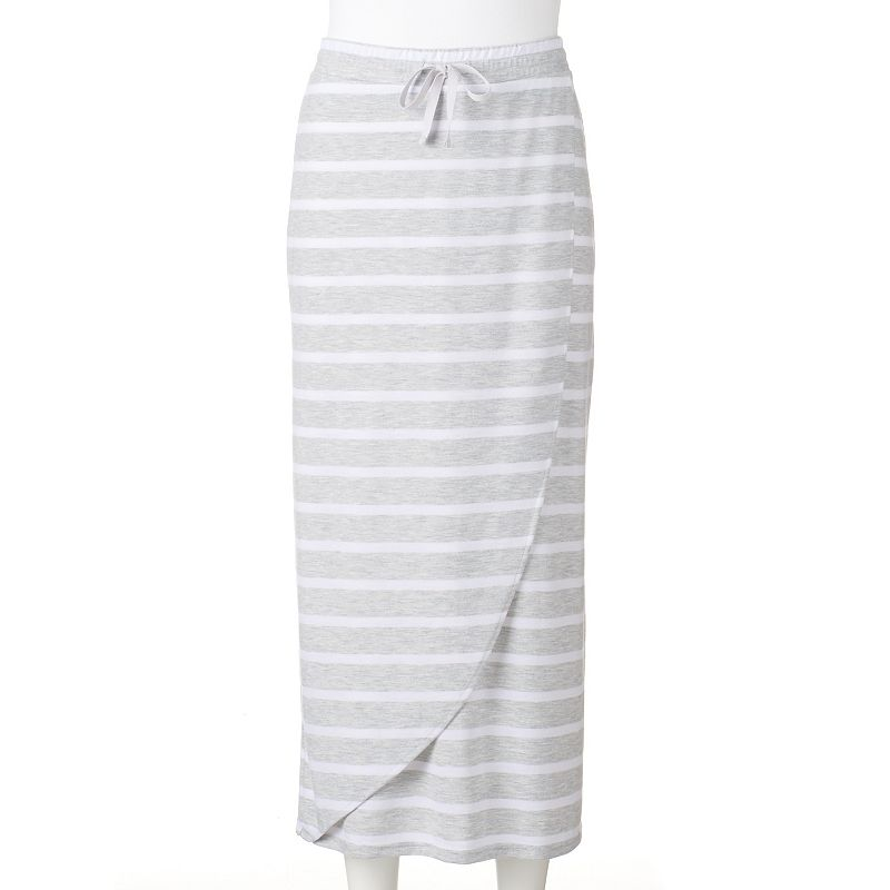 Petite SONOMA Goods for Life™ Faux-Wrap Maxi Skirt