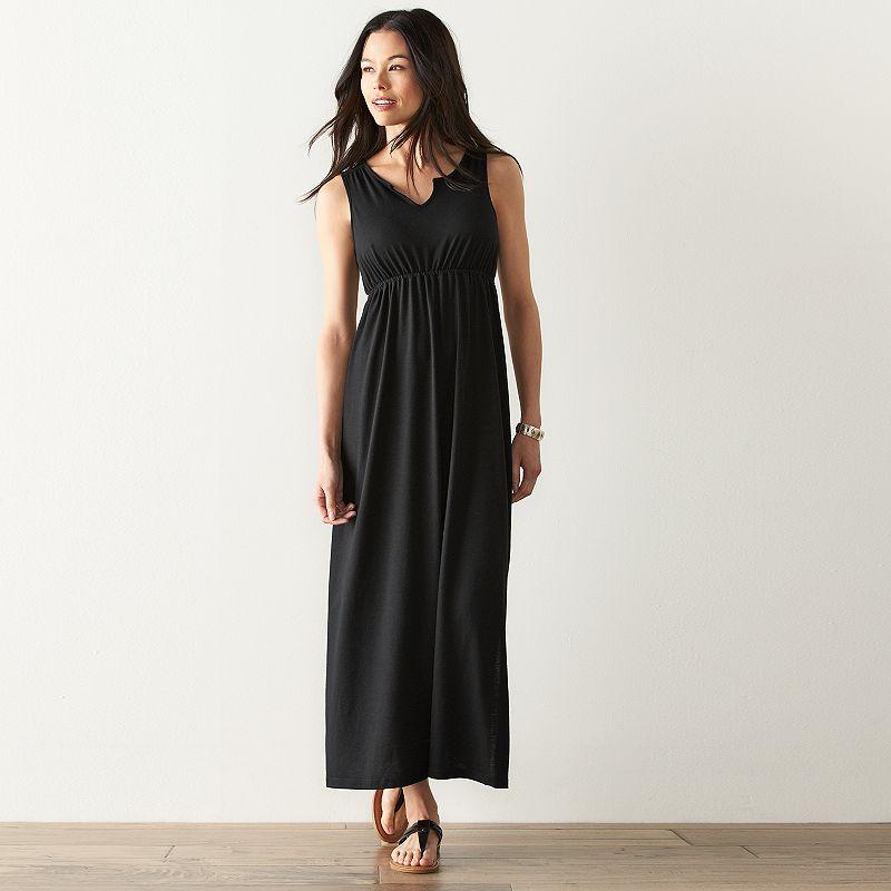 Petite SONOMA Goods for Life™ Print Empire Maxi Dress