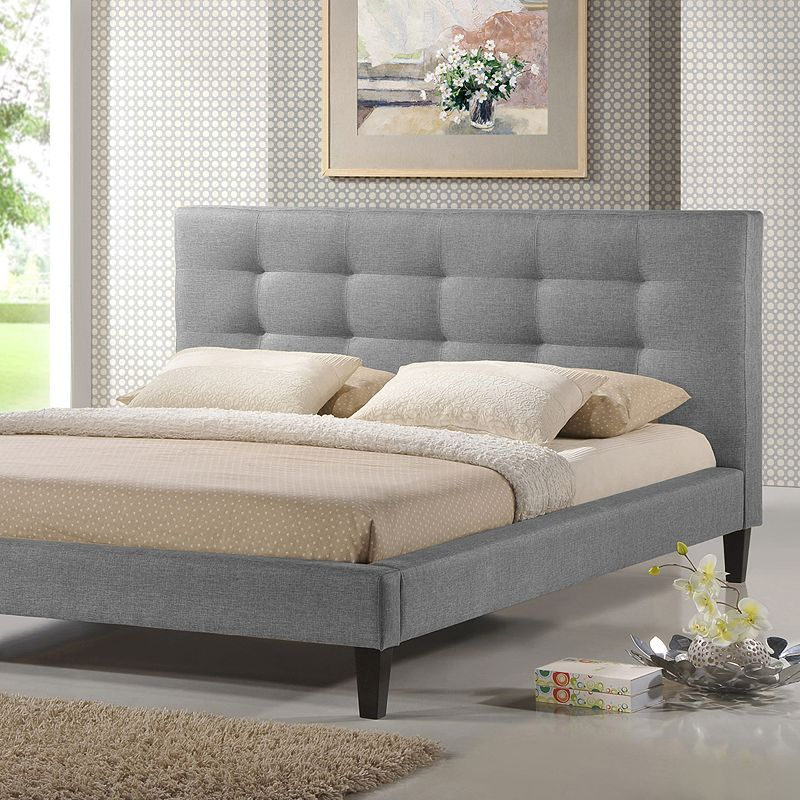 Baxton Studios Quincy Designer Bed - Full
