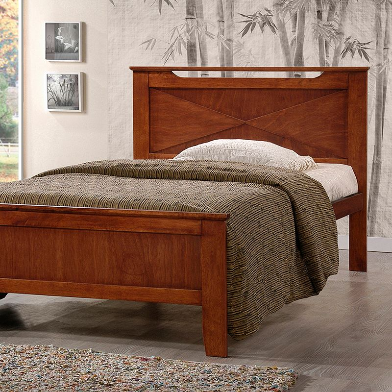 Baxton Studios Demitasse Contemporary Bed