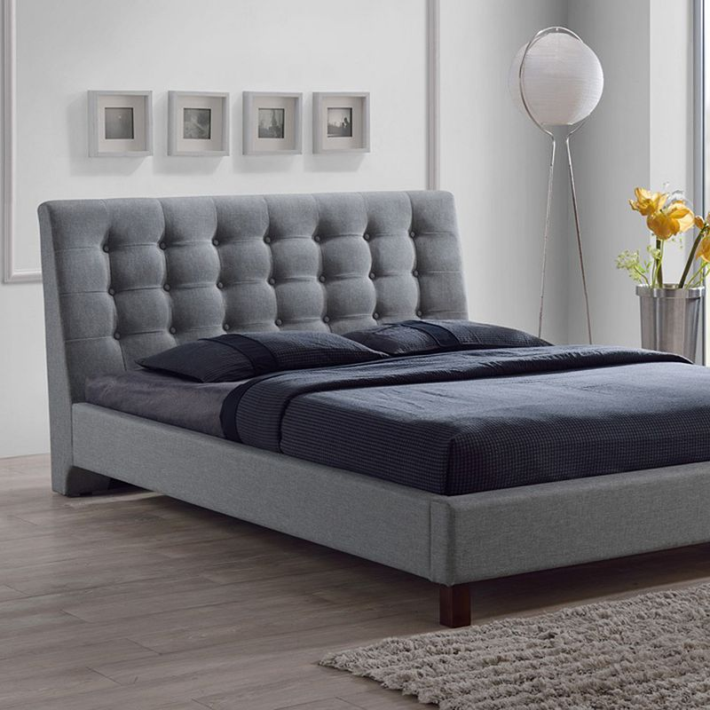 Baxton Studios Zeller Tufted Bed