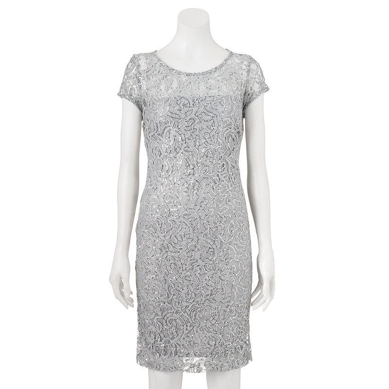 Women's Scarlett Embellished Lace Sheath Dress