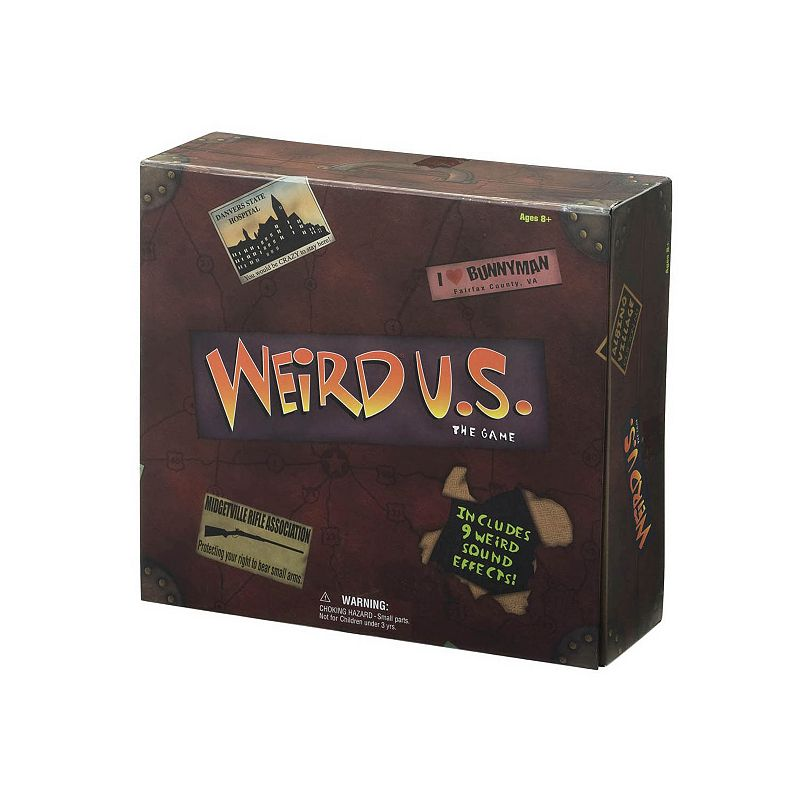 Weird U.S. The Game by University Games