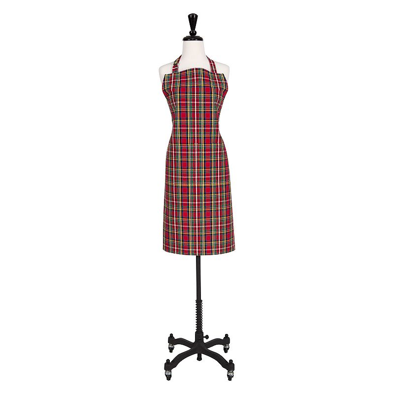 Holiday Plaid Apron