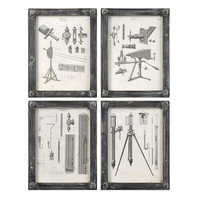 Optics Wall Art 4-piece Set
