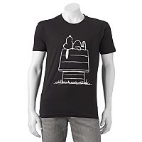 Men's Peanuts Snoopy's Doghouse Tee
