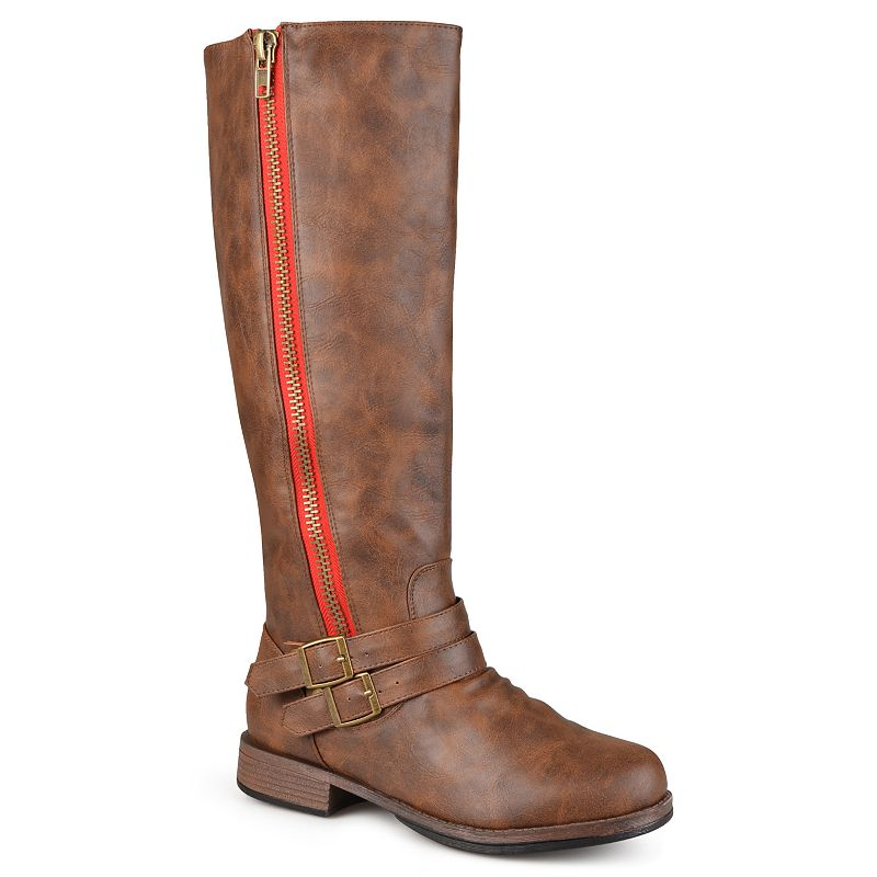 Journee Collection Lady Women's Extra Wide Calf Boots