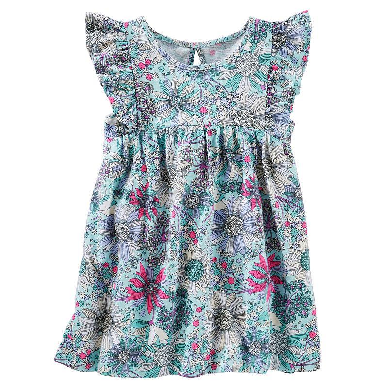 Girls 4-6x OshKosh B'gosh® Floral Flutter Tunic Tank