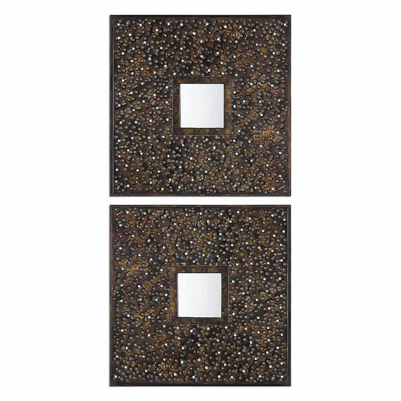 Maritsa Squares Wall Mirror 2-piece Set