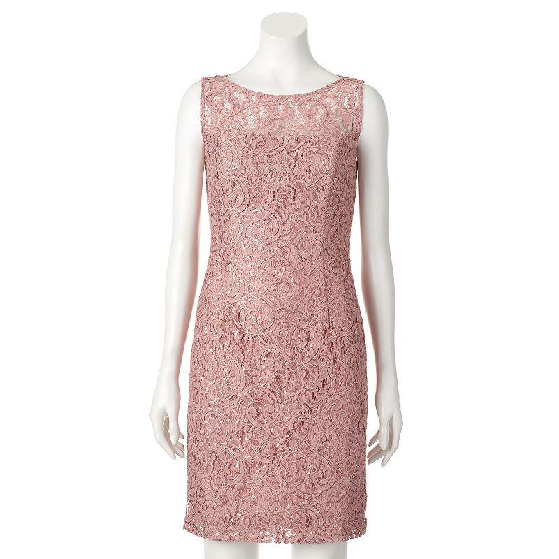 Women's Scarlett Sequin Lace Sheath Dress
